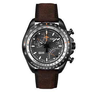 Relogio-Timex-IQ-Aviator-Fly-back-Cronografo-T2P102PL-TI-Marrom