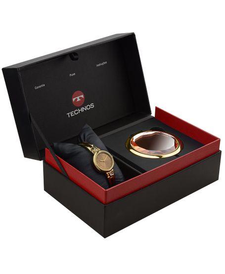 Kit-Relogio-Technos-Mini-Dourado---2035MCD-K4X
