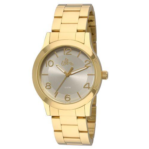 Relógio Allora Feminino Acetinados AL2035FEA 4C - Dourado AL2035FEA ... 00b15f93d5