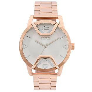 Euro - Relógio Trava Lateral Rose Gold – timecenter 9fc82e2790