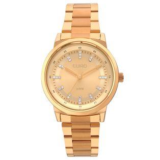 EU2036YLG4X Ver mais · EU2036YLG 4X Relógio Euro Feminino Metal Colors Rose  Gold ... ec35665cef
