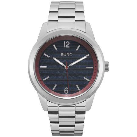 Relógio Euro Feminino Navy EU2033AP/3A - Prata