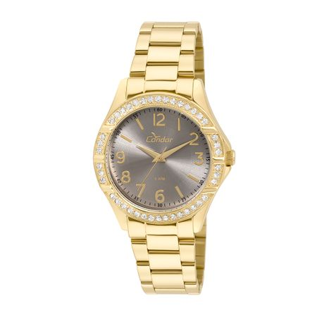 Relógio Condor Feminino Braceletes CO2035KUS/4C - Dourado