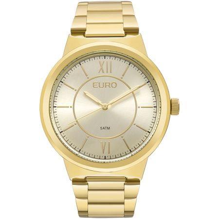 Relógio Euro Feminino Metal Trendy EU2036YEA/4D - Dourado