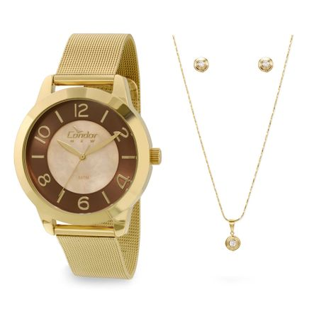 Relógio Condor Feminino Bracelete - CO2115TK/K4M