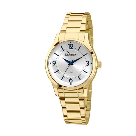 Relógio Condor Feminino Braceletes COAL2036CN/4K - Dourado