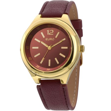 Relógio Euro Feminino Vinho EU2035XYV/4R