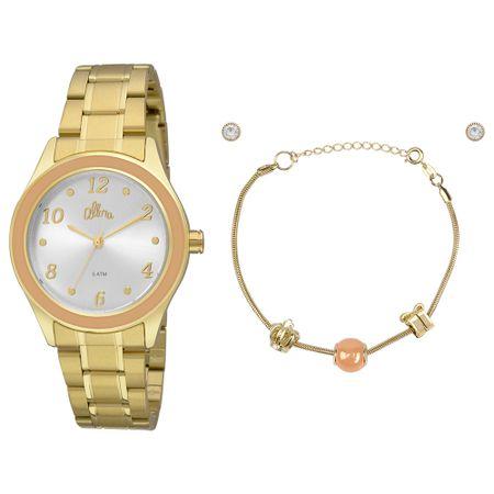 Relógio Allora Feminino  AL2035FID/K4L - Dourado