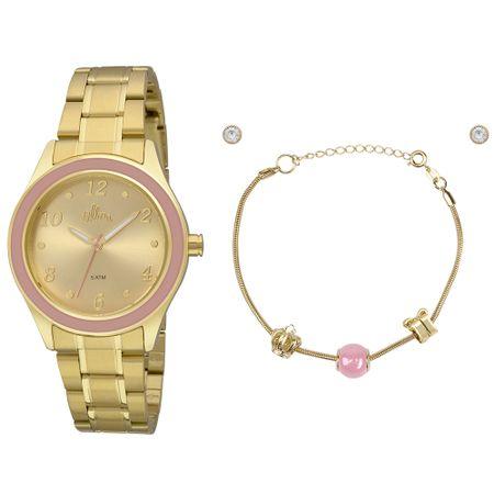 Relógio Allora Feminino  AL2035FID/K4X - Dourado