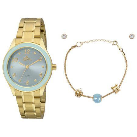 Relógio Allora Feminino  AL2035FID/K4Z - Dourado