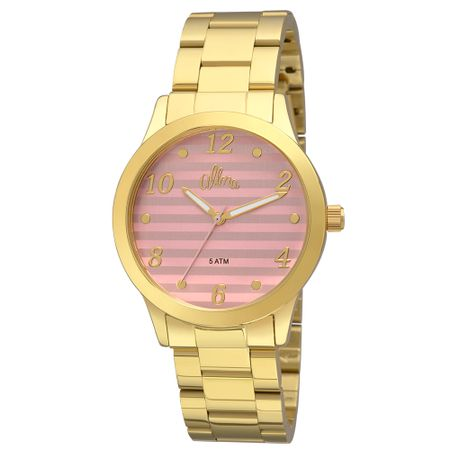 Relógio Allora Feminino  AL2035FIF/K4G - Dourado