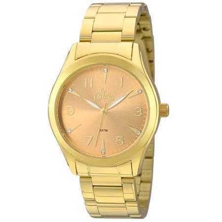 Relógio Allora Feminino  AL2035FKL/K4L - Dourado