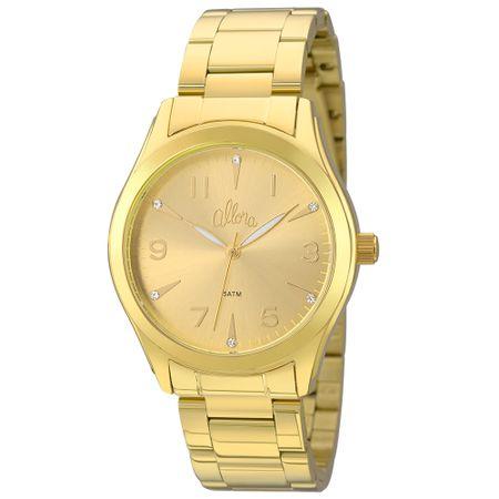 Relógio Allora Feminino  AL2035FKL/K4X - Dourado