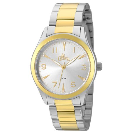 Relógio Allora Feminino  AL2035FKM/K5K - Dourado