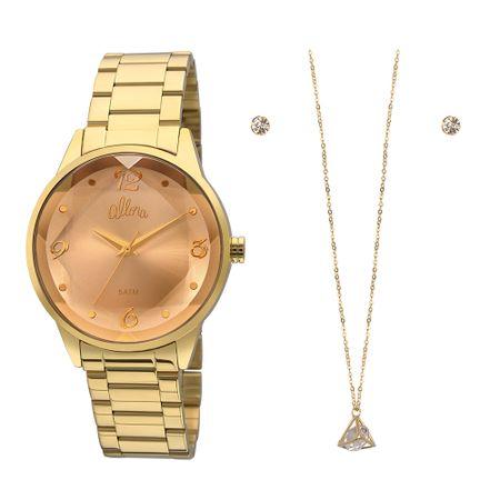 Relógio Allora Feminino  AL2035FKO/K4M - Dourado