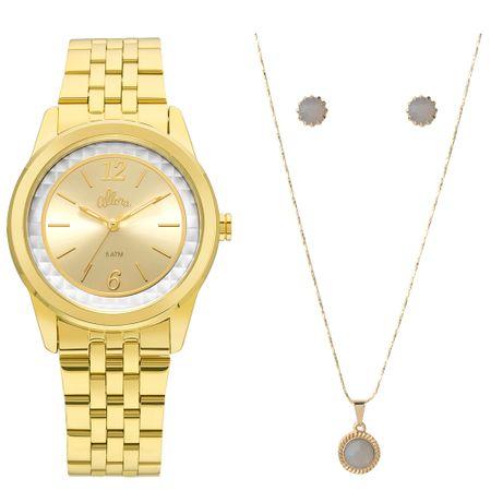 Relógio Allora Feminino  AL2035FML/K4B - Dourado
