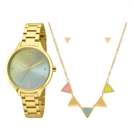 Relógio Allora Feminino  AL2036CG/K4V - Dourado