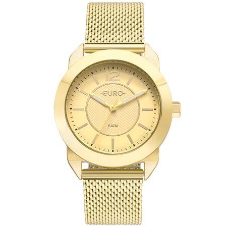 Relógio Euro Feminino Geometric Power Dourado - EU2036YLS/4D