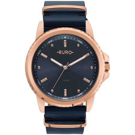 Relógio Euro Feminino Spike Basics Rosé - EU2035YNM/4A