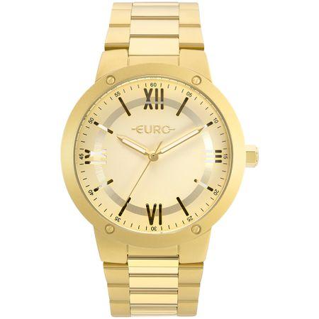 Relógio Euro Feminino Ouse Ser Você Mesma Dourado - EU2035YMU/4D