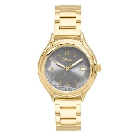 Relógio Condor Feminino Eterna Bracelete Dourado - COAL2115AH/4A