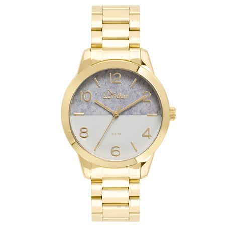 Relógio Condor Feminino Eterna Bracelete Dourado - CO2035KWC/4C