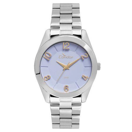 Relógio Condor Feminino Eterna Bracelete Prata - CO2039AK/K3G
