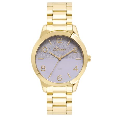 Relógio Condor Feminino Eterna Bracelete Dourado - CO2035KWC/K4G