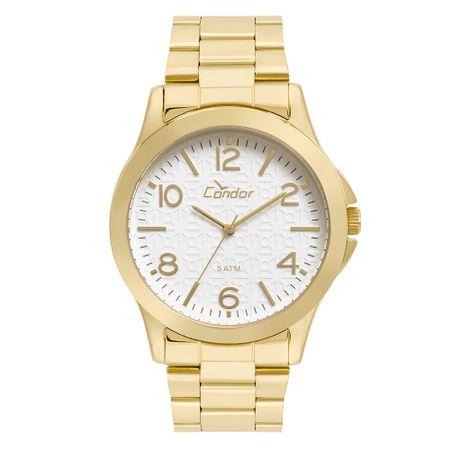 Relógio Condor Feminino Eterna Bracelete Dourado - CO2036KUH/K4B