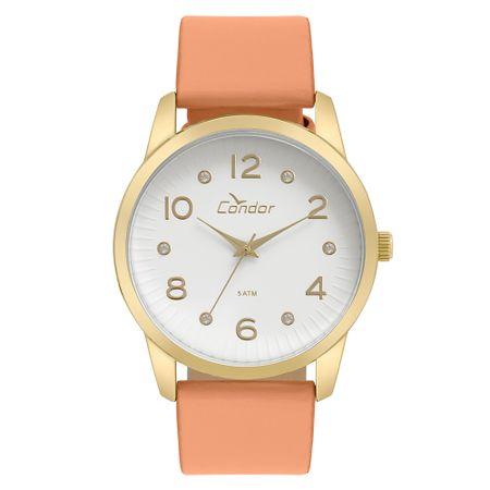 Relógio Condor Feminino Eterna Bracelete Dourado - CO2035KWE/2B
