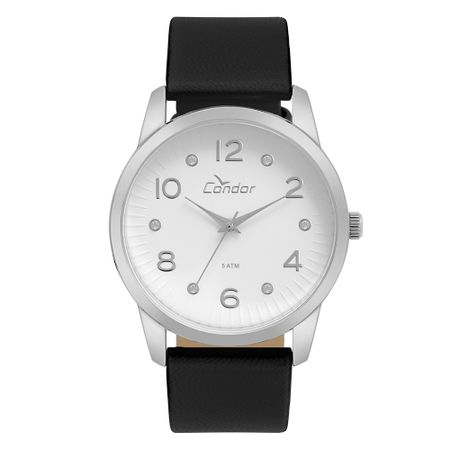 Relógio Condor Feminino Eterna Bracelete Prata - CO2035KWF/2K