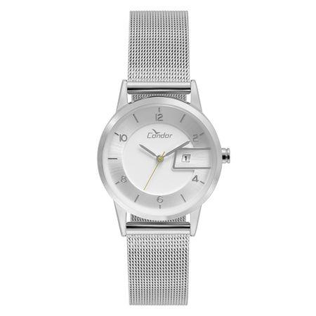 Relógio Condor Feminino Eterna Bracelete Prata - COGL10BO/3K