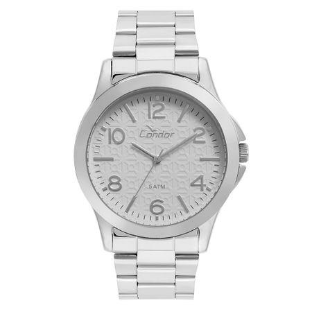 Relógio Condor Feminino Eterna Bracelete Prata - CO2036KUF/K3C