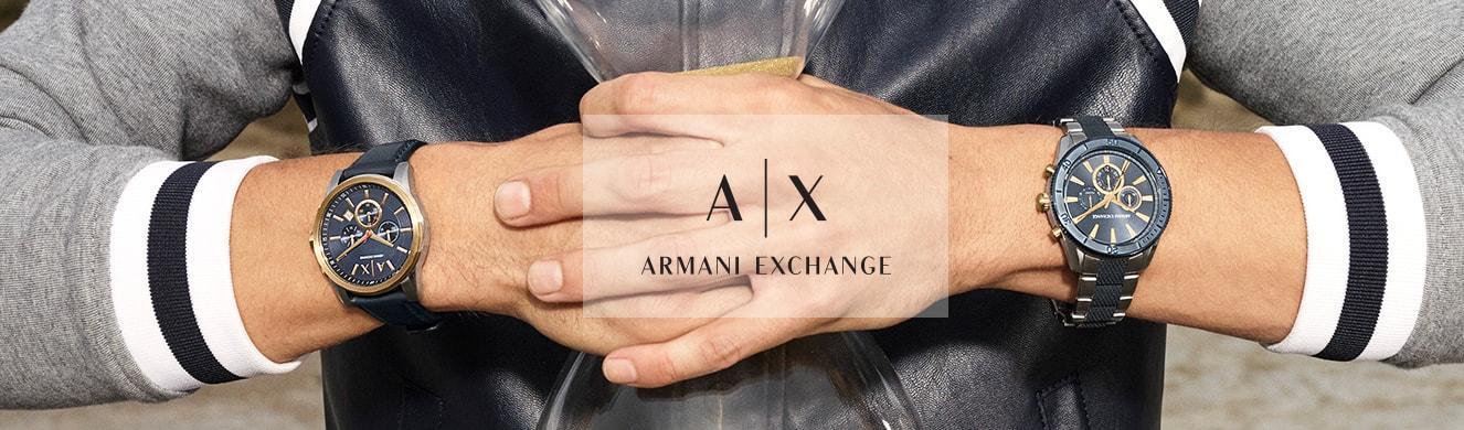 8c41ceb5b01 Relógio - Armani Exchange Masculino Aço Preto – timecenter