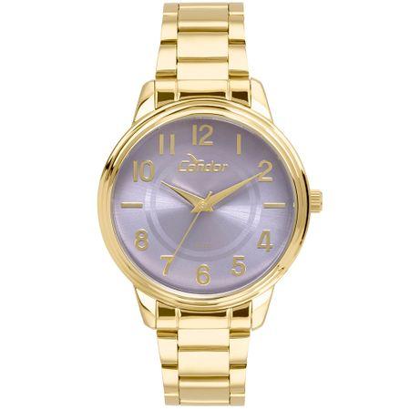 Relógio Cond Feminino Racelete Dourado - CO2035KUU/K4G