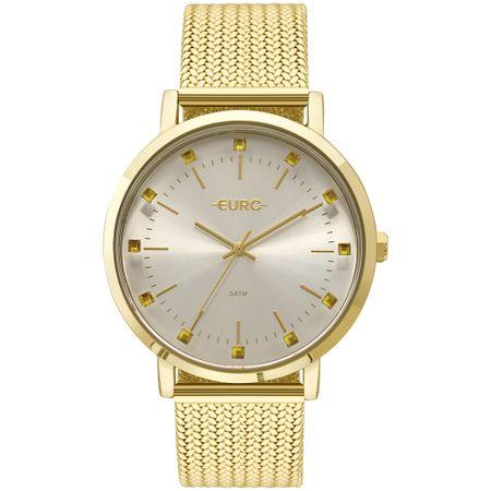 Relógio Euro Feminino Spike Illusion Dourado - EU2035YMZ/4D
