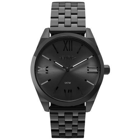 Relógio Euro Feminino Recortes Preto - EU2035YNF/4P