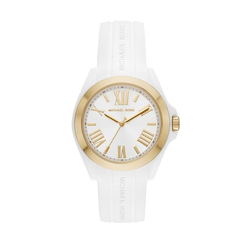 41076913d Relógio Michael Kors Feminino Bradshaw Bicolor - MK2730/8BN MK2730/8BN
