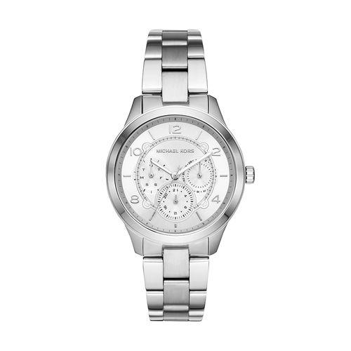 fe0018ab4 Relógio Michael Kors Feminino Runway Prata MK6587/1KN MK6587/1KN ...
