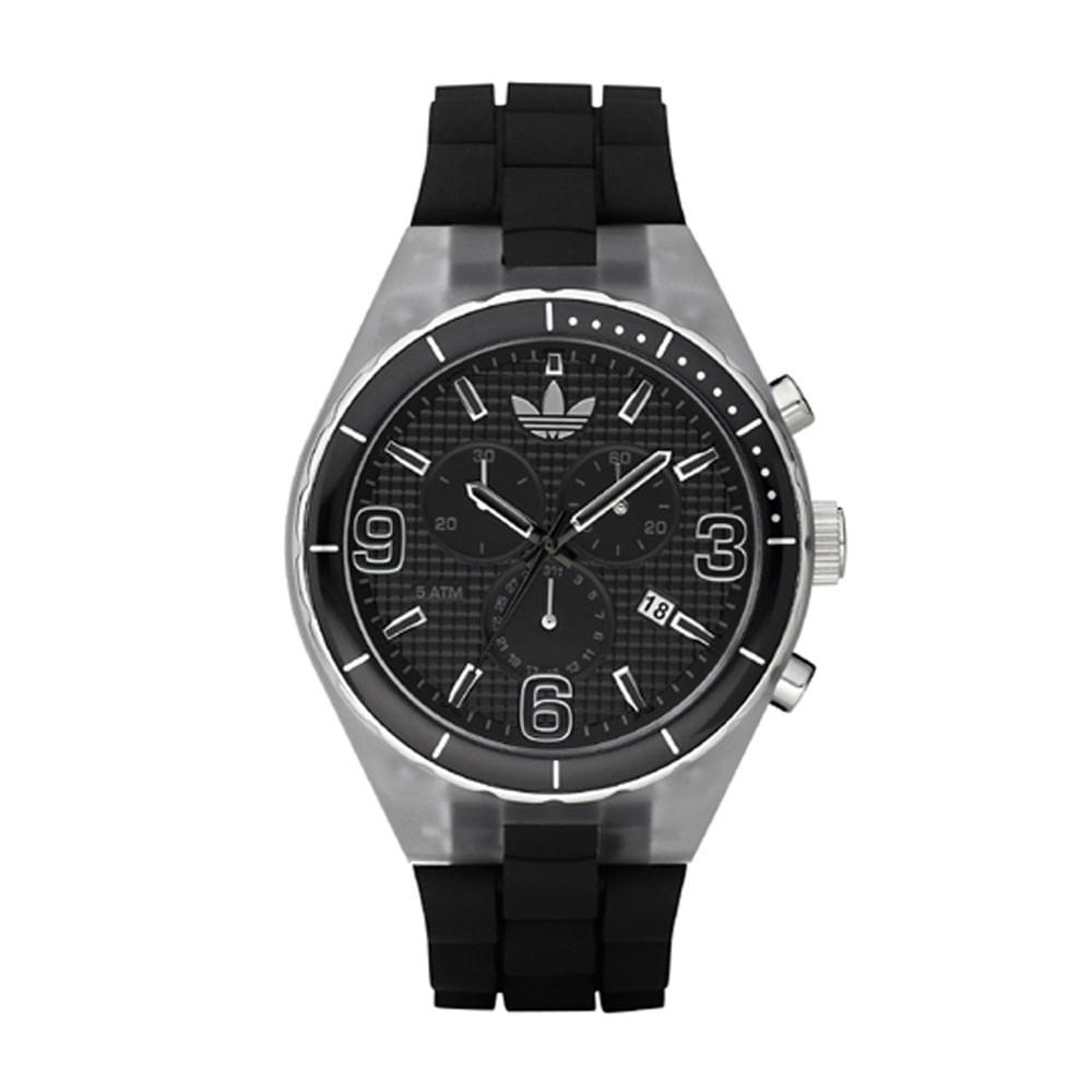 1f1f5fc380b Relógio Adidas Feminino Preto - ADH2528 Z - timecenter