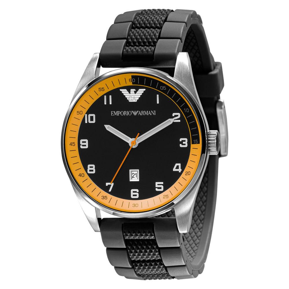 Relógio Emporio Armani Masculino Preto - HAR5876 N - timecenter 930e1c2092