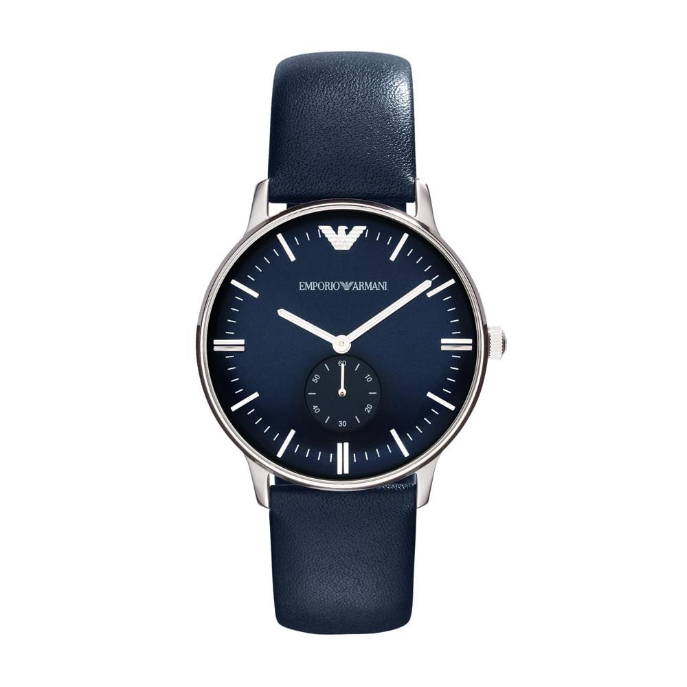 30af9f087cb Relógio Emporio Armani Masculino Azul - HAR1647 Z - timecenter