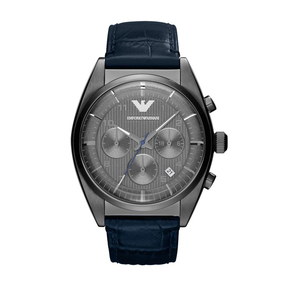 Relógio Emporio Armani Masculino Azul - HAR1650 Z - timecenter e3fcf8a659