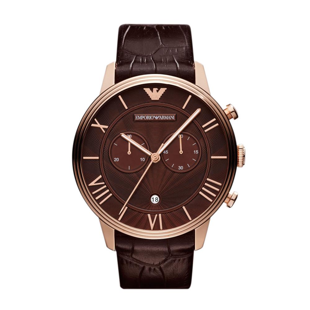 906df580fc4 Relógio Emporio Armani Feminino Marrom - HAR1616 Z - timecenter