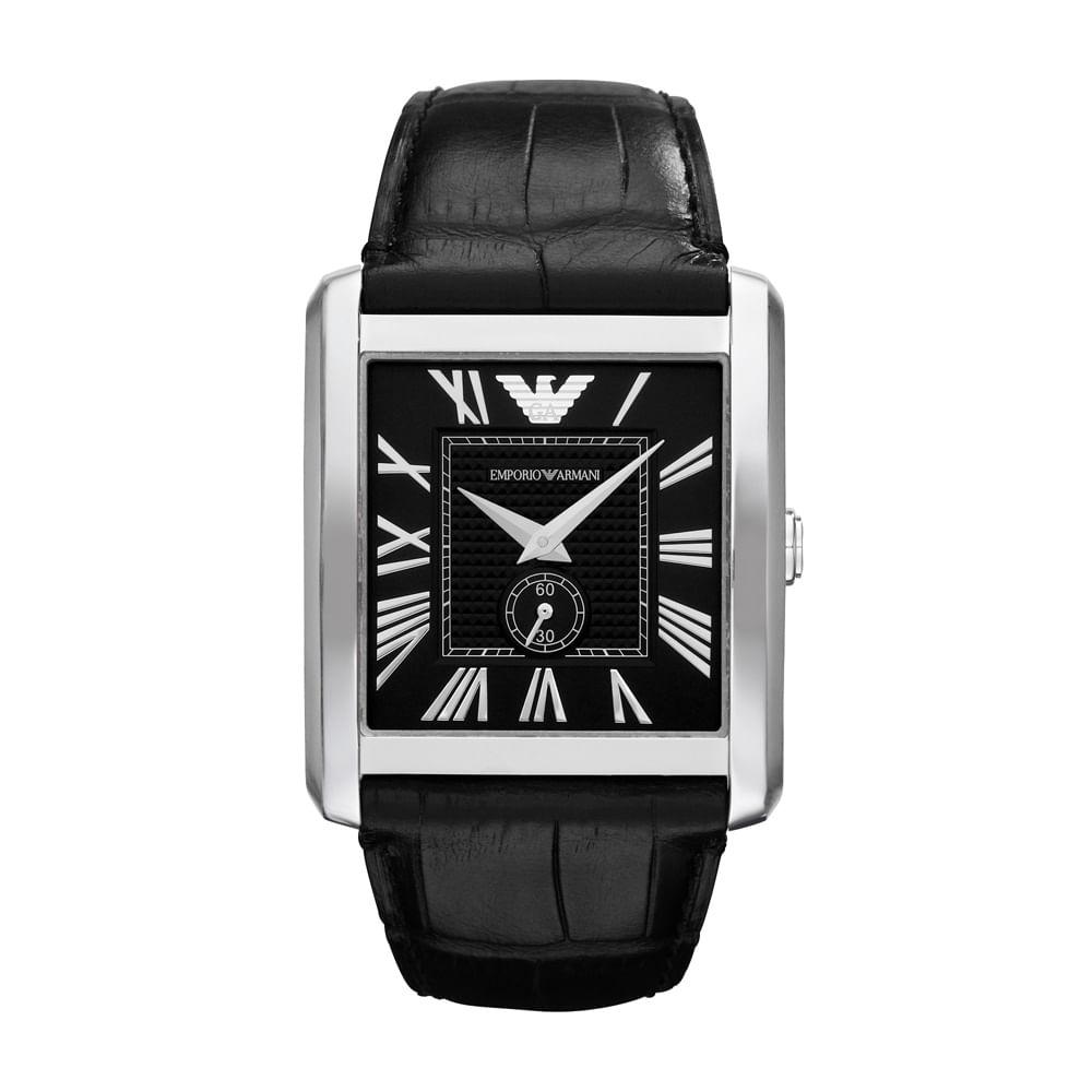 Relógio Emporio Armani Masculino Preto - HAR1640 Z - timecenter 71934c2c4d