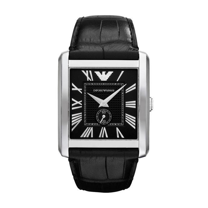 cc2e13265f83e Relógio - Emporio Armani Preto 5 ATM – Tempo de Black Friday