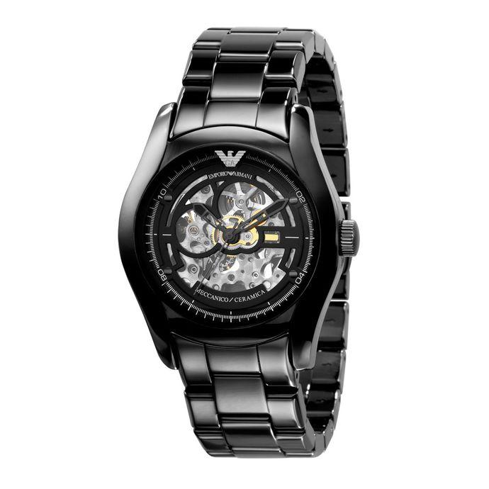 e6db27070a119 Preto Relógio - Emporio Armani – Tempo de Black Friday