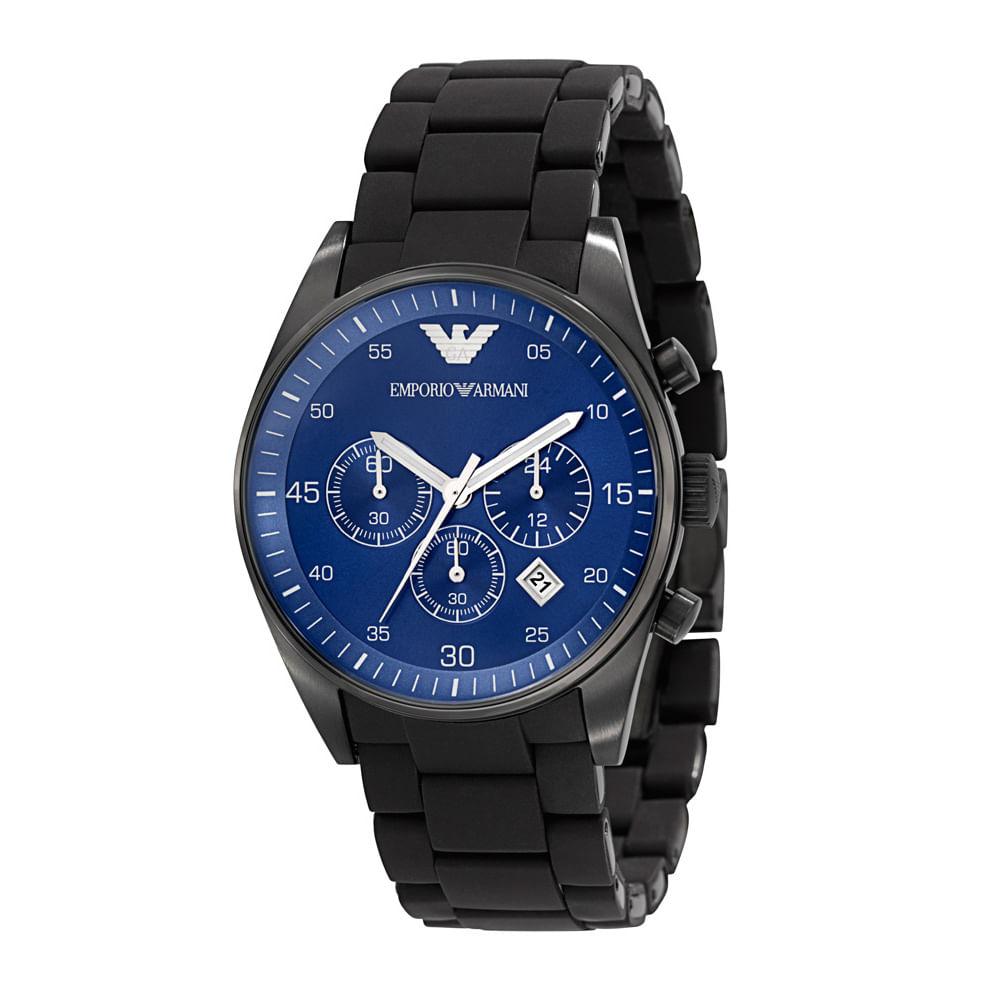 Relógio Emporio Armani Masculino Preto - HAR5921 Z - timecenter 0b2ef25e9b