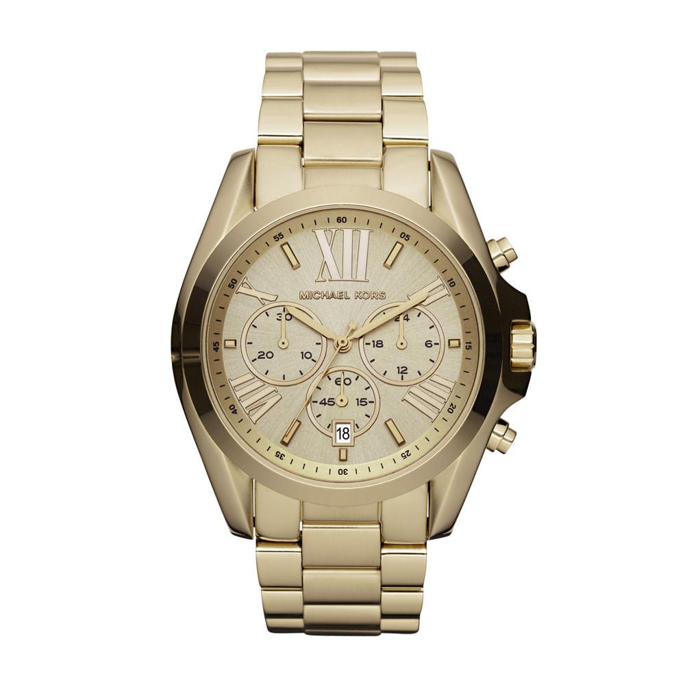 35281ee6aaf0b Relógio Michael Kors Feminino - OMK5605 Z - timecenter