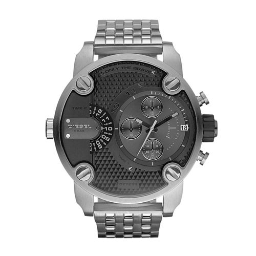 1276a0788461e Relógio Diesel Masculino Prata - IDZ7259 Z - timecenter